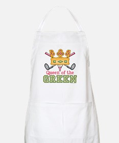 Queen of the Green Womens Golf BBQ Apron