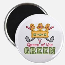 """Queen of the Green Golf 2.25"""" Magnet (100 pack)"""