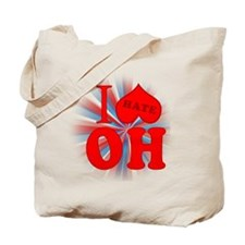 I No Heart Ohio Tote Bag