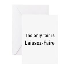 Laissez-Faire Greeting Cards (Pk of 10)