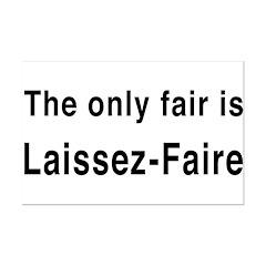 Laissez-Faire Posters