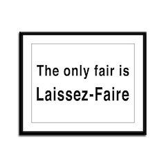 Laissez-Faire Framed Panel Print