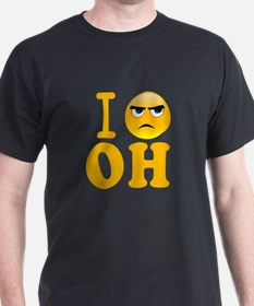 Unique Hate ohio T-Shirt