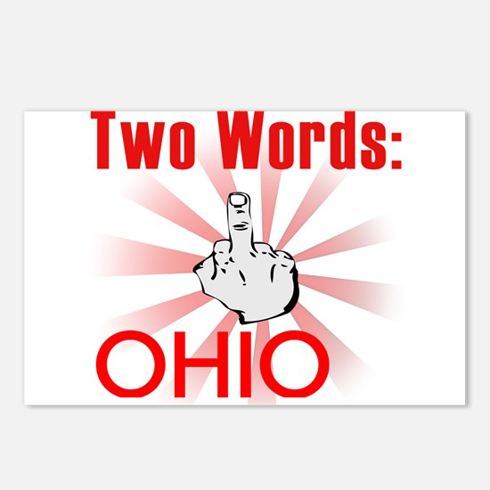 Funny Ohio Postcards (Package of 8)