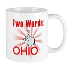 Cute Hate ohio Mug