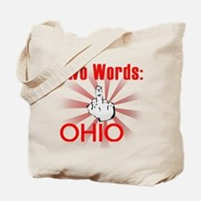 Funny Ohio university Tote Bag