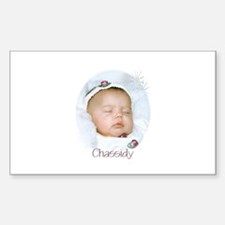 Chassidy Rectangle Sticker 10 pk)