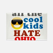 Funny Hate ohio Rectangle Magnet