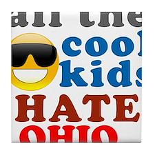 Unique Hate ohio Tile Coaster