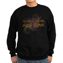 She is Fierce - Swirl Sweatshirt
