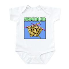 Swatch me Knit Infant Bodysuit