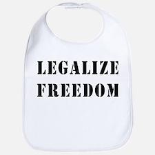 Legalize Freedom Bib