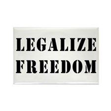 Legalize Freedom Rectangle Magnet (100 pack)