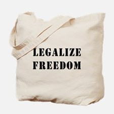 Legalize Freedom Tote Bag