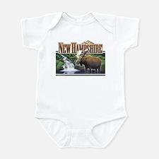 New Hampshire Moose Infant Bodysuit