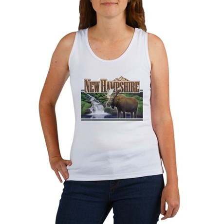 New Hampshire Moose Women's Tank Top