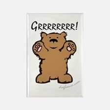 Grr (Bear) Rectangle Magnet