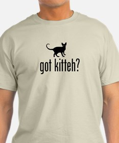 got kitteh? Abyssinian cat T-Shirt