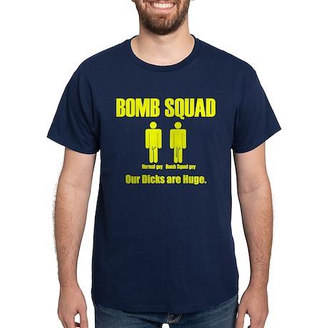 Bomb Squad Shirt, Yellow writing