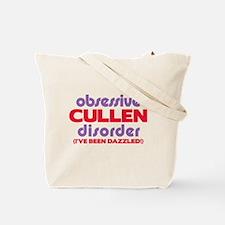 Obsessive Cullen Disorder Tote Bag