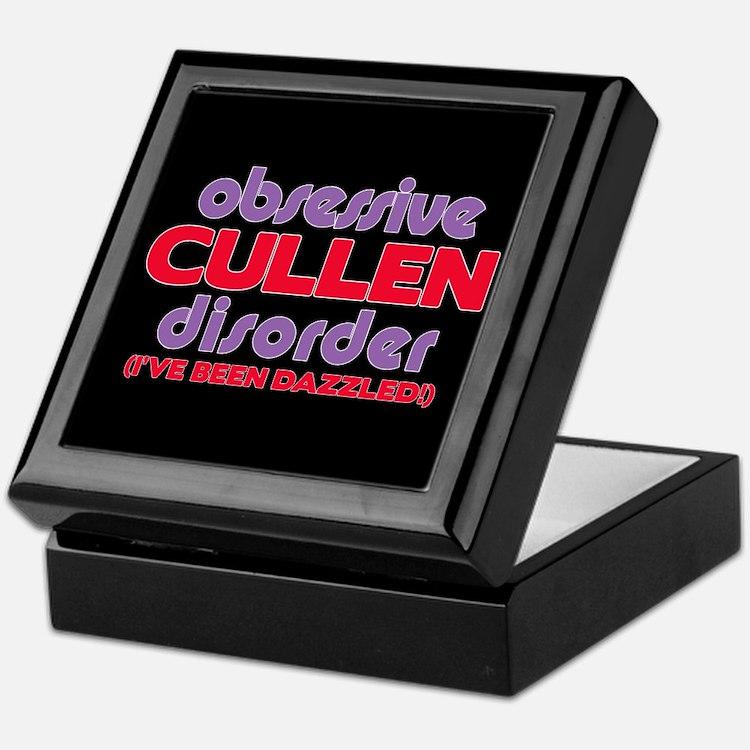 Obsessive Cullen Disorder Keepsake Box