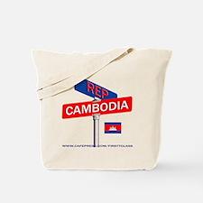 REP CAMBODIA Tote Bag