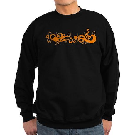 Orange Melody Sweatshirt (dark)
