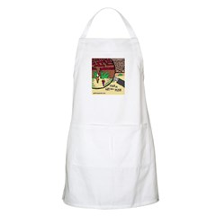 Find the Girl from Perth-large BBQ Apron