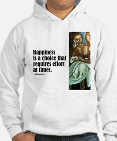 """Aeschylus """"Happiness"""" Hoodie"""