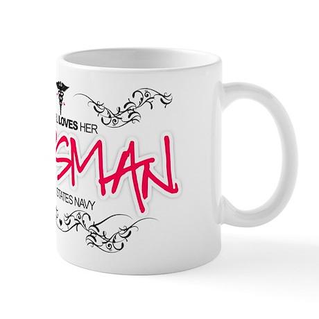 This Girl Loves (Corpsman) Mug
