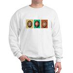 Eggs in a Row Sweatshirt