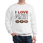 I love Pysanky 2 Sweatshirt