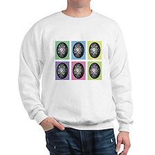Pop Art Pysanka Sweatshirt