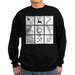 Pysanka Symbols Sweatshirt (dark)
