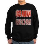 Ukr. Mom Red Sweatshirt (dark)