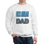 Ukr. Dad Blue Sweatshirt