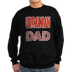 Ukr. Dad Red Sweatshirt (dark)