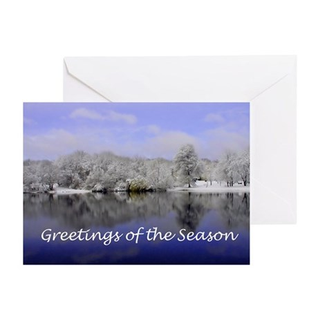 Winter Scene Greeting Cards (Pk of 20)