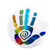 """Massage Hand 3.5"""" Button"""