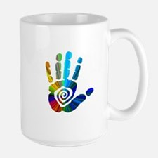 Massage Hand Large Mug