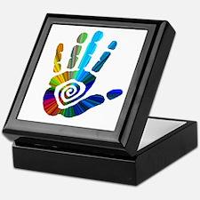 Massage Hand Keepsake Box
