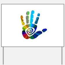 Massage Hand Yard Sign