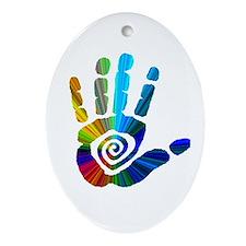 Massage Hand Ornament (Oval)
