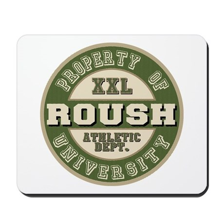 Roush Athletic Department Mousepad