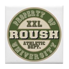 Roush Athletic Department Tile Coaster