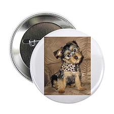 """Silky Puppy 2.25"""" Button"""