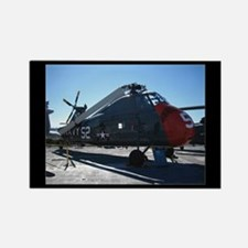 Navy Helicopter - Rectangle Magnet