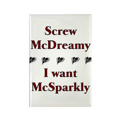 Twilight McSparkly Rectangle Magnet (10 pack)