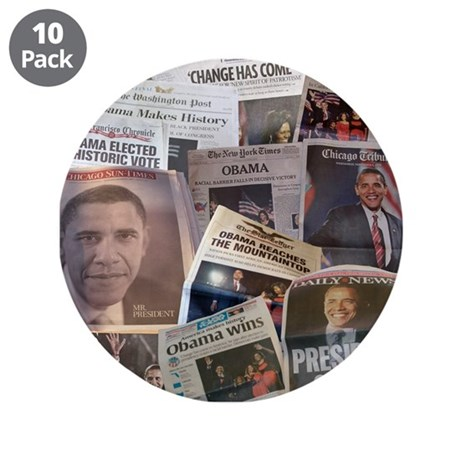 "Obama Victory Collage 3.5"" Button (10 pack)"