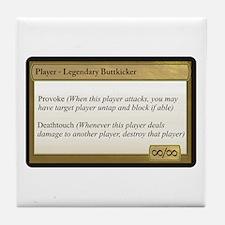 Legendary Buttkicker Tile Coaster